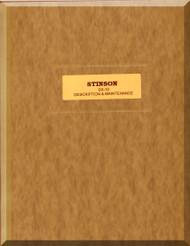 Stinson  SR-10  Aircraft Description and Maintenance Manual