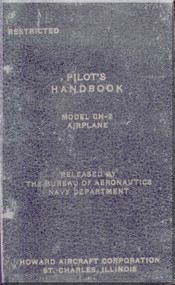 Howard GH-2 Aircraft Flight Manual - Nav Aer 01-170QB-1- 1944