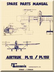 Transavia AirTruk PL 12 PL 12 U Spare Parts Manual