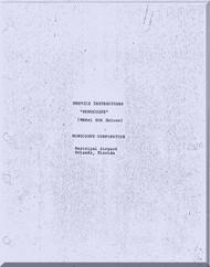 Monocoupe 90 A  Aircraft Service Handbook Manual