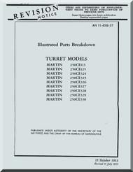 Martin 250CE113, ... 330  Gun Turrets Aircraft Parts Manual