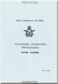 Commonwealth  CA-26 Ca-27  Aircraft  Standard operating procedure  Manual - 1985