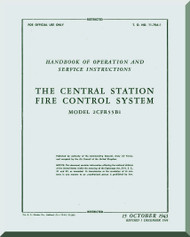 Boeing B-29  Aircraft Central Fire Control System Manual