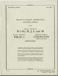 Consolidated B-24  Flight Manual