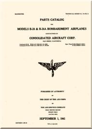 Consolidated B-24 Parts Catalog