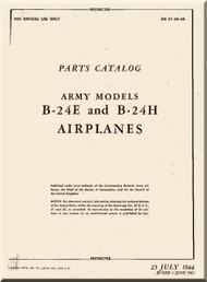 Consolidated Aircraft B-24 Parts Catalog Manual