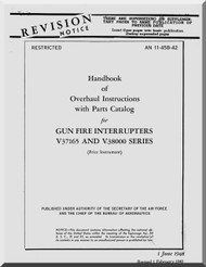 Aircraft  Manual Gun Fire Interrupters V37165 and V3800 Series AN 11-457-42
