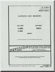 Fairchild C-119 G , J R4Q-2 Illustrated Parts Catalog   Manual TO  1C-119F-4 , 1955