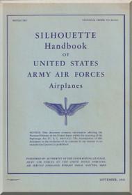Aircraft Silhouelette Handbook Manual  T.O. 00-40-1 -1942