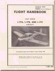 North American Aviation L-17 A, B, C Aircraft Flight Handbook Manual - 1-1L-17A-1 - 1953