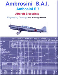 Ambrosini S.7 Aircraft Blueprints Engineering Drawings - Download