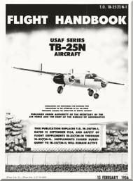 North American Aviation TB-25 N Aircraft Flight Manual - 1B-25(T)N-1