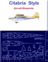 Citabria  Style Aircraft Blueprints Download