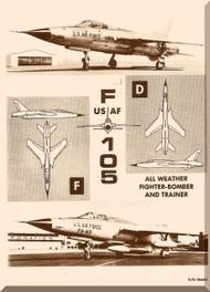Republic F-105 D  Aircraft Flight Handbook  Manual TO 1F-105D-1
