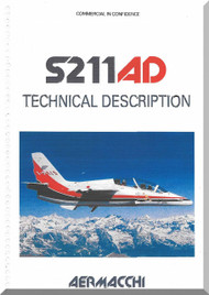 Aermacchi / SIAI Marchetti S.211 AD Aircraft Technical Manual