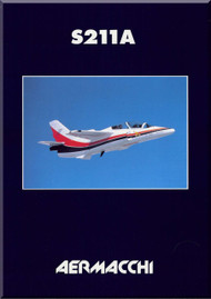 Aermacchi / SIAI Marchetti S.211 A Aircraft Technical Brochure Manual
