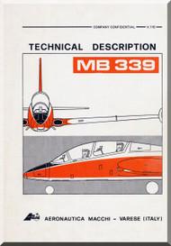Aermacchi MB-339 Aircraft Technical Manual - 1977