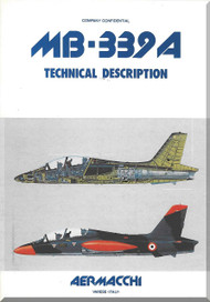 Aermacchi MB-339 A Aircraft Technical Manual 1982