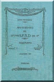 SPAD S.VII Aircraft Technical Manual - 1917