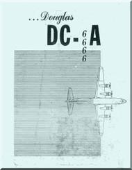 Douglas DC-6  Aircraft  Study Guide   Manual  ,  1947