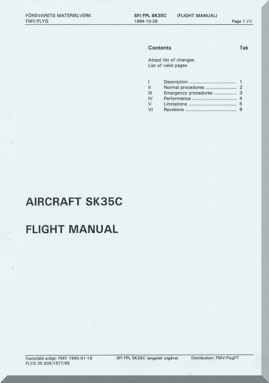 Jabiru Sk Flight manual