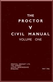 Percival Proctor  V Aircraft  Flight  Manual