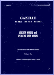 Westland Gazelle  Helicopter Aircrew and Operating Manual