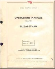 Airspeed Ambassador Aircraft Operation  Manual