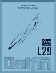 Aero Vodochoy L-29 Delfin Aircraft Maintenance Handbook  Manual