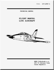 Aero Vodochoy L-39 C Aircraft  Flight Manual - USA - 1T-L39C-1