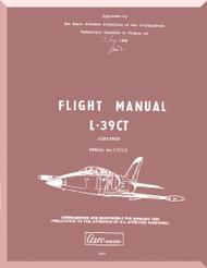 Aero Vodochoy L-39 CT Albatross Aircraft Flight  Manual