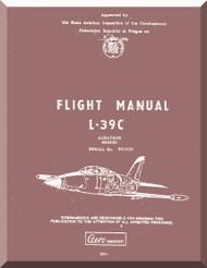 Aero Vodochoy L-39 C Albatross Aircraft Flight  Manual