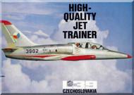 Aero Vodochoy L-39  Aircraft  Brochure Manual