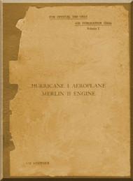 Hawker Hurricane I  Aircraft   Manual A.P. 1564A - 1939