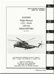 Sikorsky CH-53 A  Helicopter Flight Manual