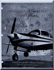 Meyer Model 200  Aircraft Overhaul and Service  Manual - 1966