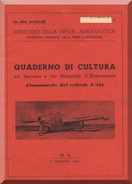 FIAT Republic F-84 Aircraft Information  Manual - Weapon,