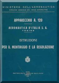 Fiat  / Aeronautica D'Italia  S.A.  A.120  Aircraft Maintenance Manual