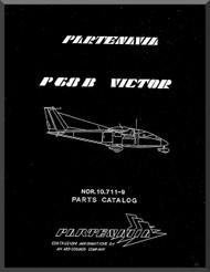 Partenavia  P68  B Victor Aircraft Parts Catalog Manual  ( English Language )