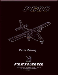 Partenavia  P68  C Aircraft Parts Catalog  Manual  ( English Language )