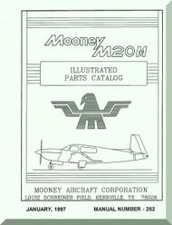 Mooney M.20 M Aircraft Illustrated  Part Manual - 1987