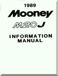 Mooney M.20 J Aircraft Information  Manual - 1989