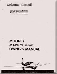 Mooney M.20 B  Aircraft Owner Manual  - 1961