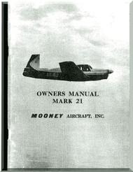 Mooney M.20 C  Aircraft Owner Manual  - 1963