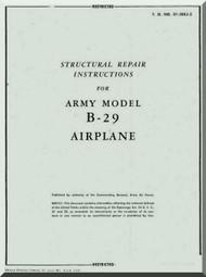 Boeing  B-29  Aircraft Structural Repair Manual - 01-20EJ-3