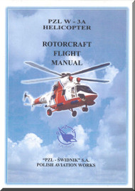 PZL W-3A  Helicopter Rotocraft Flight Manual