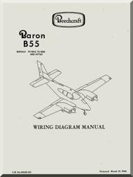 beechcraft baron e 55 58 aircraft wiring diagram manual. Black Bedroom Furniture Sets. Home Design Ideas