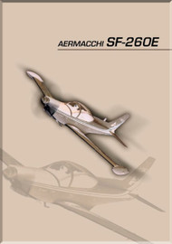 SIAI Marchetti  / Aermacchi SF-260 E Aircraft Technial Brochure Manual