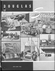 Douglas  Aircraft Service Digest  -  May - June - 1956