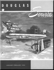 Douglas  Aircraft Service Digest  -  January -  February  - 1955